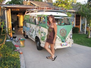 Green Bus and Barbara