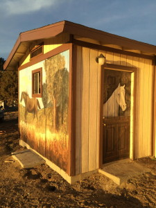 Horse Murals 4 Big Bear CA 2015
