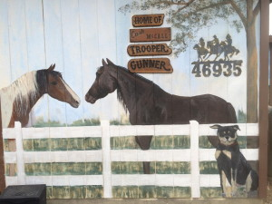 Horse Murals Big Bear CA 2015